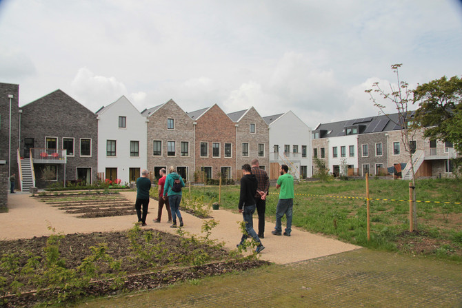 """""""Build it and they will come"""", our Visit to K1 Cohousing, Marmalade Lane, Cambridge"""