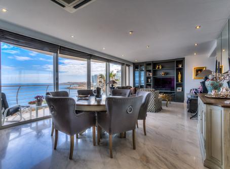 Highly desirable beachfront residence for sale in Sliema, Malta