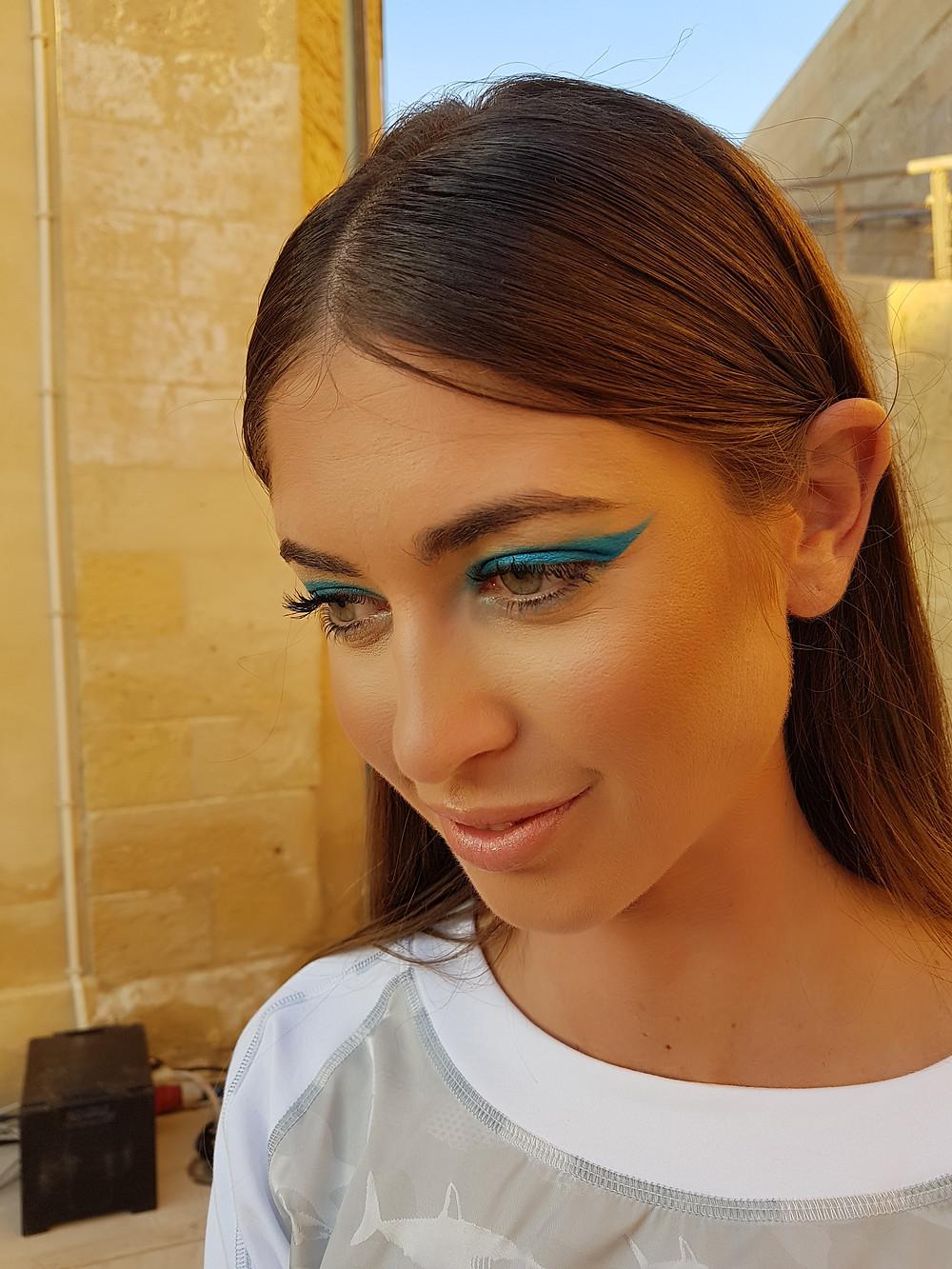 Malta Fashion Week 2018 Makeup and hair. Temple Magazine