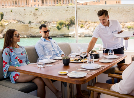 A Michelin Star Experience Onboard - Maltese Islands