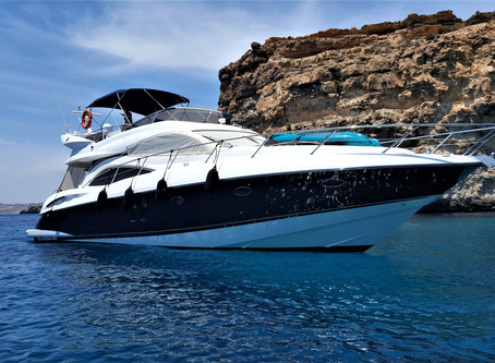 World class charters in Malta - Azure Ultra hosts the TEMPLE Team.