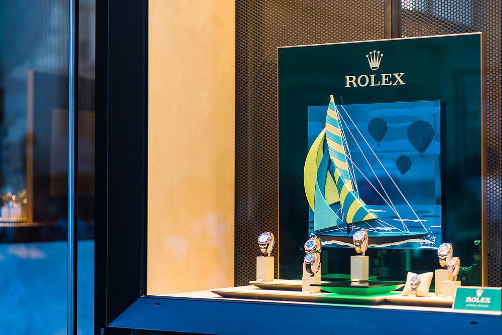 Rolex Boutique, Valletta. Image Copyright : Edwards Lowell