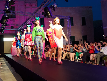 Ágatha Ruiz de la Prada colours the catwalk at Mercedes-Benz Fashion Week Malta !