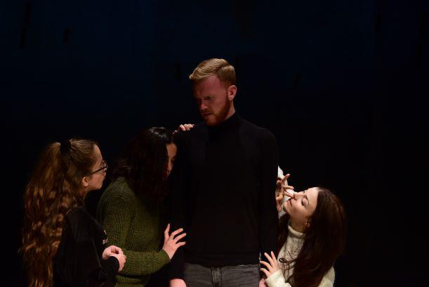 Image: Rehearsal snapshot - Macbeth © Mark Zammit Cordina