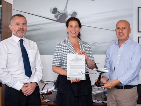 Flexjet receives Maltese Air Operator Certificate