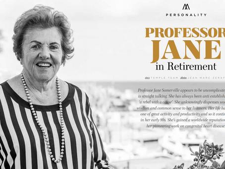 Professor Jane in Retirement