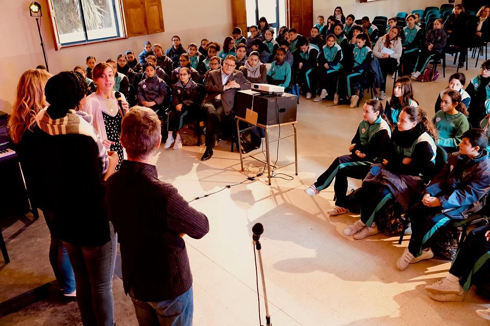 Gerardo Felisatti (coach/pianist), Annemiek van Elst (Assistant Director), Jazmin Black Grollemund (vocalist), Helen Sherman (vocalist)