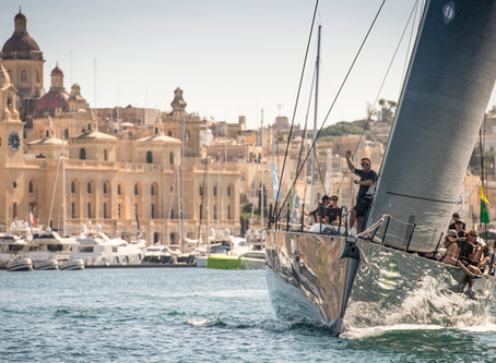 Sailing around the Maltese Islands