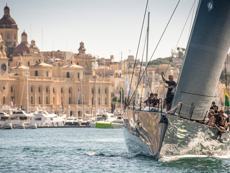 Sailing around the Maltese Islands
