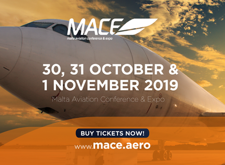 Soaring success as bookings fly in for the Malta Aviation Conference & Expo (MACE).