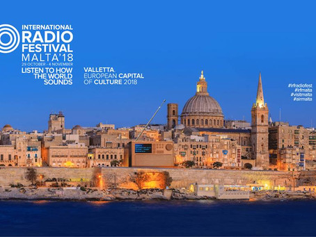 International Radio Festival brings big names to Malta.
