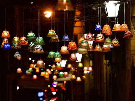 BRINGING LIGHT AND COLOUR TO VALLETTA'S STRAIT STREET