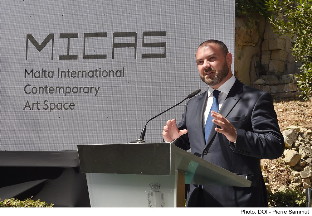 MICAS Launch. Malta. Image Copyright: DOI Pierre Sammut