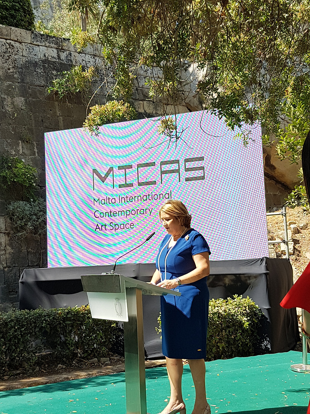 MICAS Launch. Phyllis Muscat. Image Copyright Temple Concierge