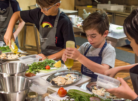 Perfect for children with a flair for cooking - The Mediterranean Culinary Academy Summer Course