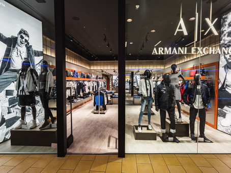 A|X  Armani Exchange launches with flair at The Point