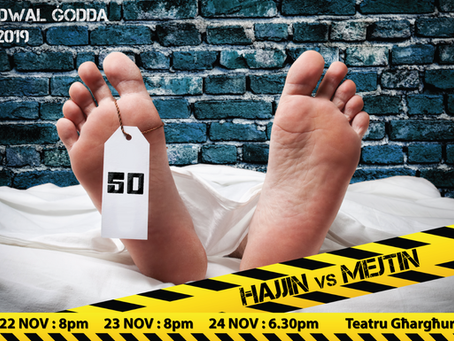 The Living vs The Dead - and it's NOT what you imagine! Dwal Ġodda's theatre production this month..