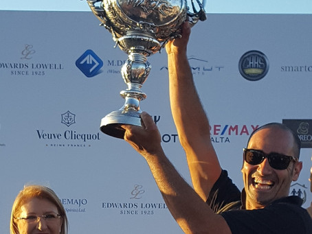 The Cawnpore Cup – Sunset Game of the Year celebrating 150 years of polo in Malta.