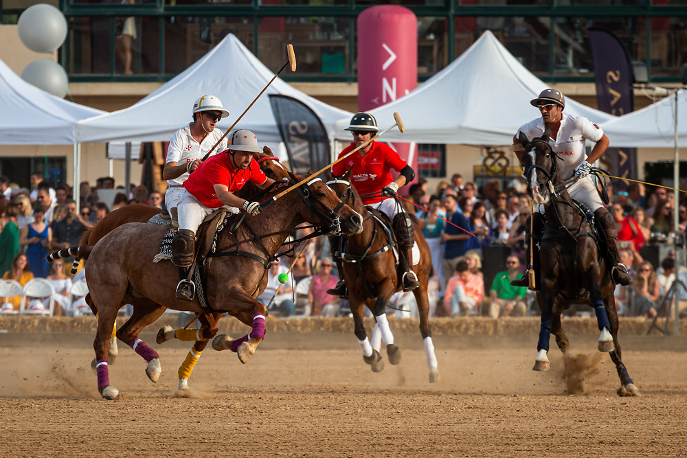The Cawnpore Cup, Malta Polo Club. Image courtesy of Aldo Scicluna