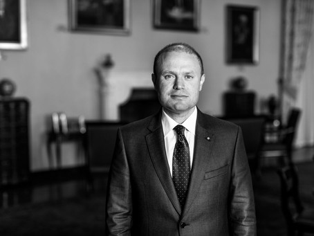 The Honourable Dr Joseph Muscat - Prime Minister of Malta