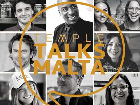TEMPLE TALKS MALTA - Top PODCAST Series for Malta - Everyone's talking about it!