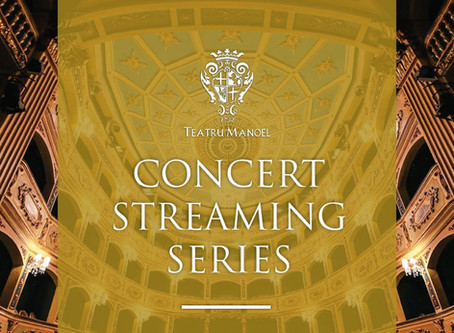 Teatru Manoel concert streaming series starts tonight!