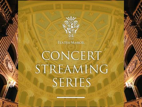 Teatru Manoel concert streaming series starts tonight!