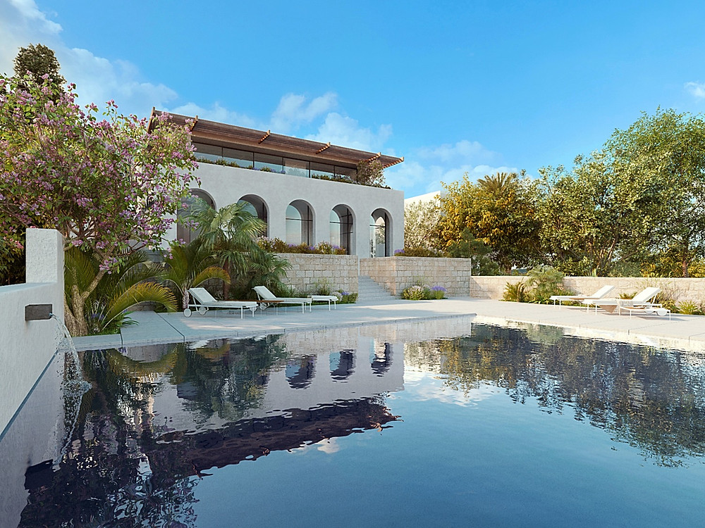 Hilltop Villa development  for sale in Mellieha - Copyright Malta Sotheby's International Realty