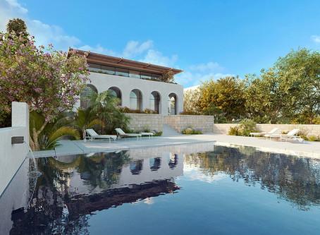 Fabulous hilltop villa designed by award-winning architect. Mellieha. For Sale