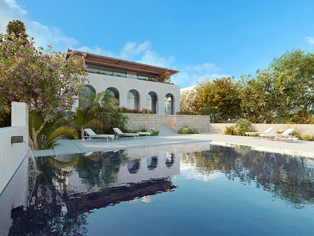 Fabulous hilltop villa designed by award-winning architect. Mellieha. For Sale