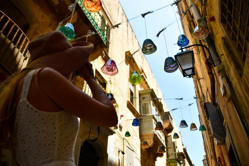 Mdina Glass Installation Valletta