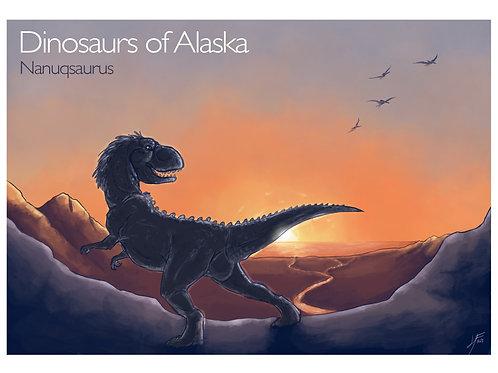 DoA Series- Nanuqasaurus Print