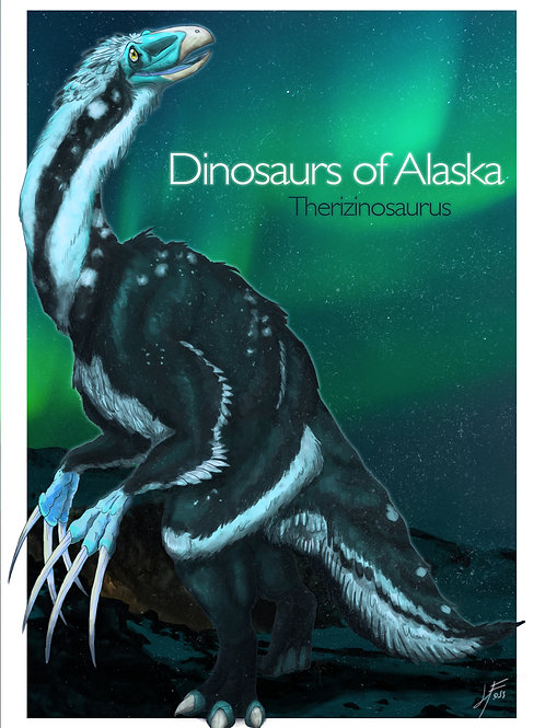 DoA Series- Therizinosaurus Print