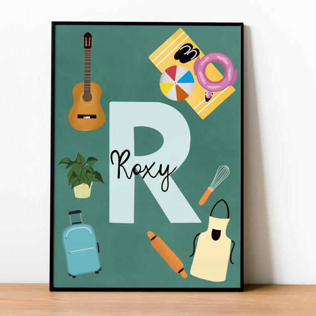 Favourite Things Custom Illustration