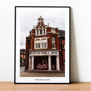 Hyde Park Picture House Print