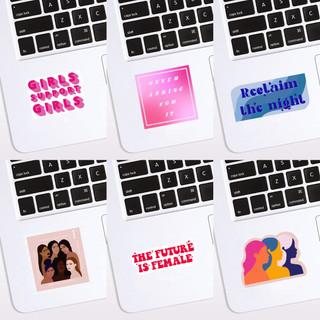 NSJ | Female Empowerment Stickers