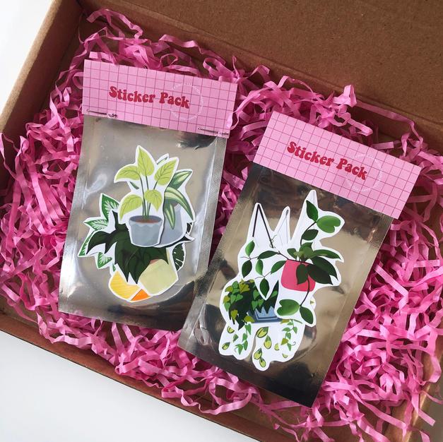 Plant Sticker Pack