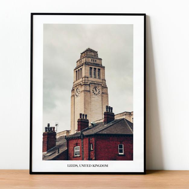 Parkinson Building Leeds Print