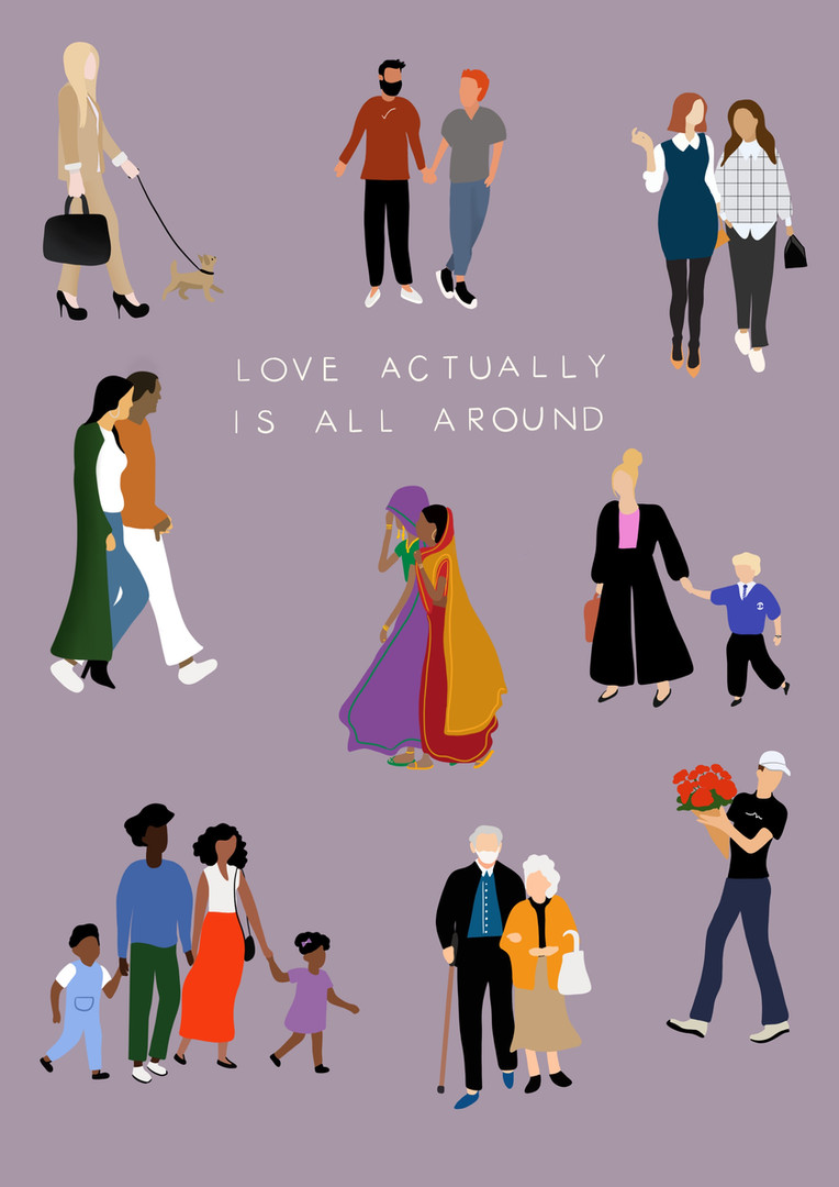 Love actually is all around