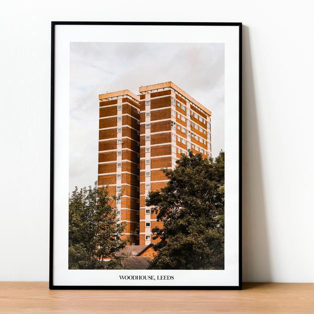 Woodhouse Leeds Print