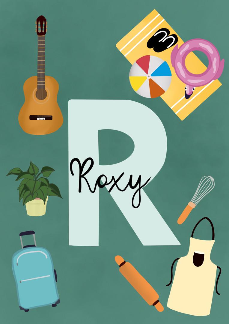 Roxy (personalised illustration)