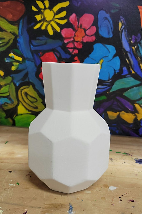 Faceted Bud Vase