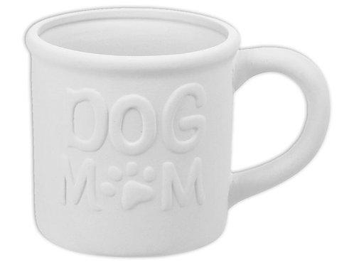 Dog Mom Tin Mug