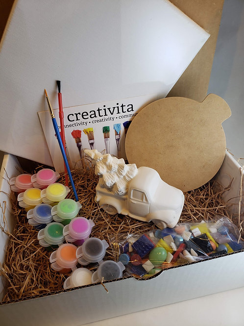 Home for the Holiday Art Kit