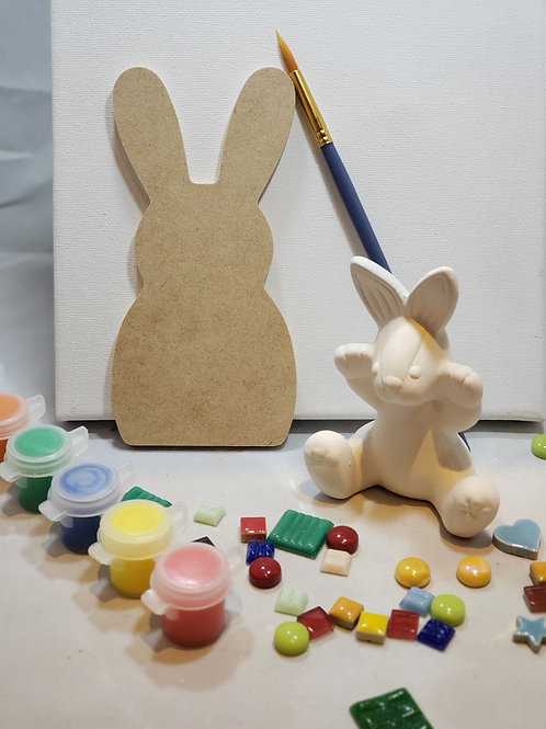 Bailey the Bunny Art Kit