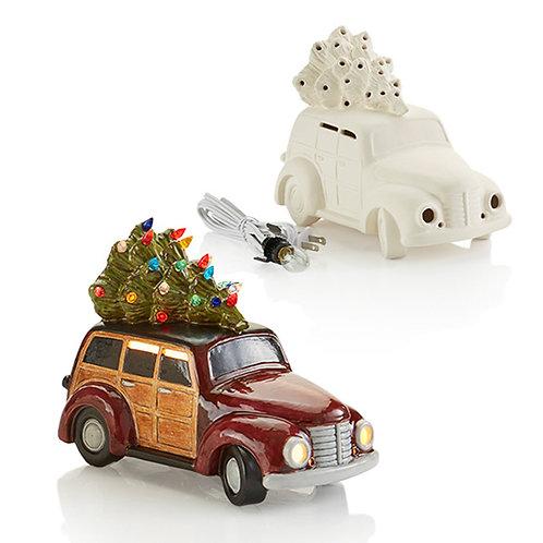 Woody Wagon with Tree