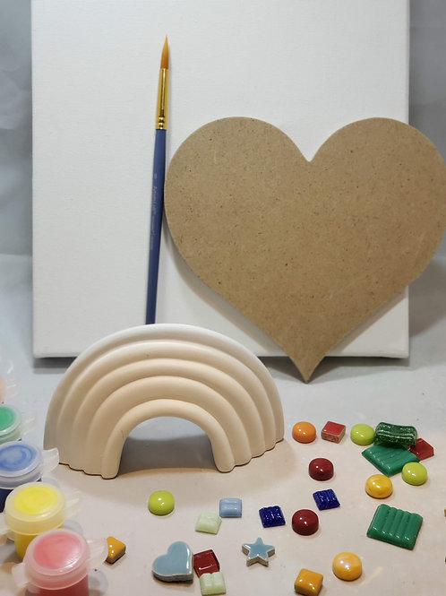 Rainbow Love Art Kit
