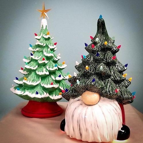 Gnome Light Up Tree