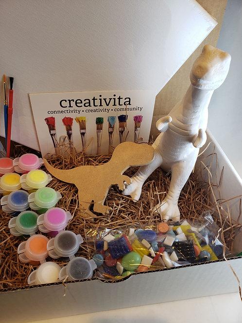 Rexy the Dinosaur Art Kit
