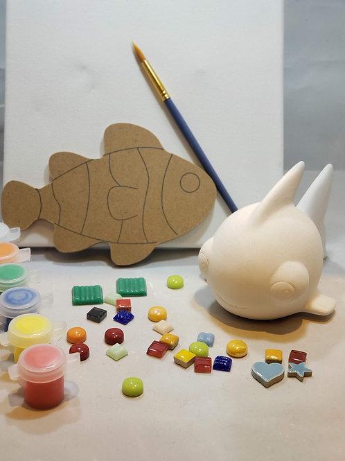 Funky Fish Art Kit